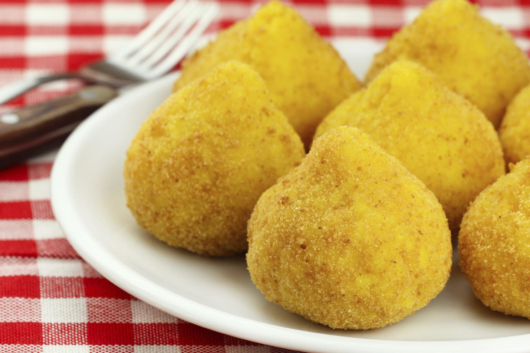 Riċetta Aranċini żgħar bit-tonn u l-mozzarella