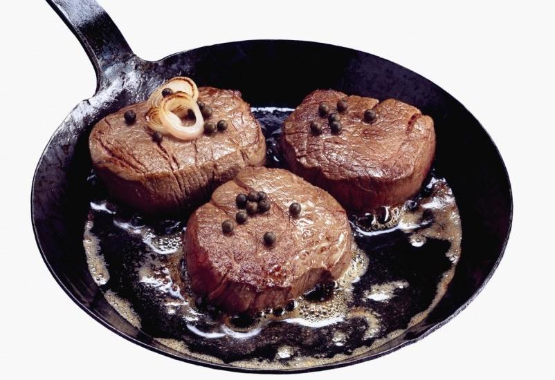 Beef fillet fried