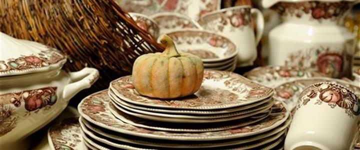 Dinnerware Bursts With Color For Fall Entertaining