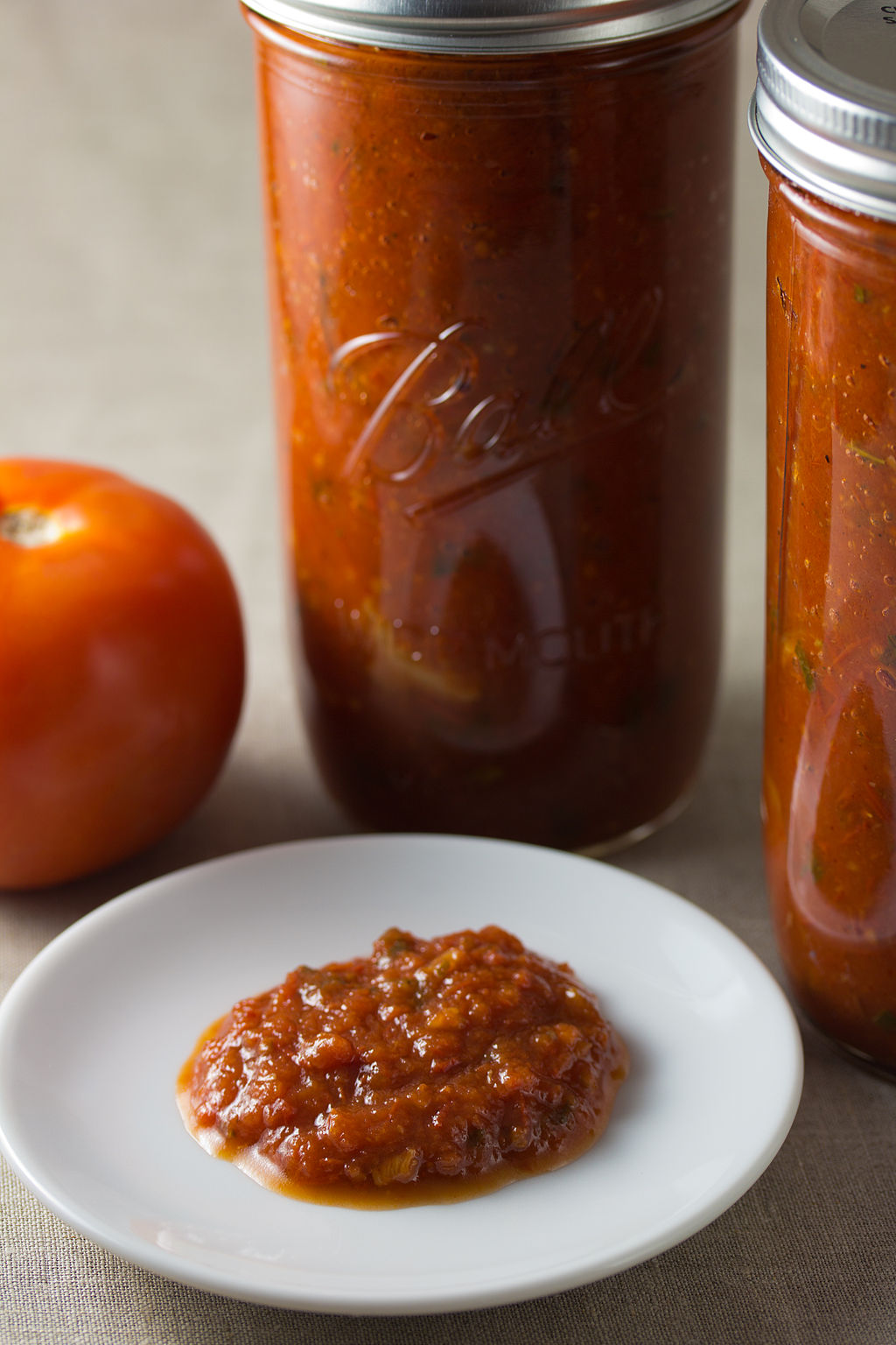 Recipe for Marina sauce tomato basil