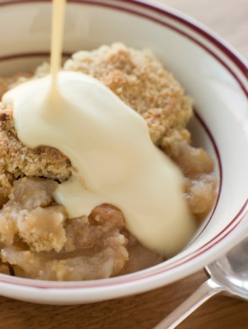 Recipe Cheddar apple crisp