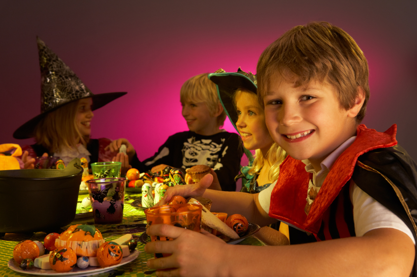 Halloween party monster food