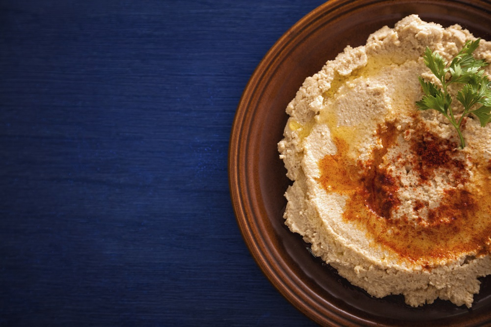 Recipe: Spiced sweet red pepper hummus