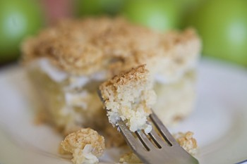 Recipe for apple crumble pie