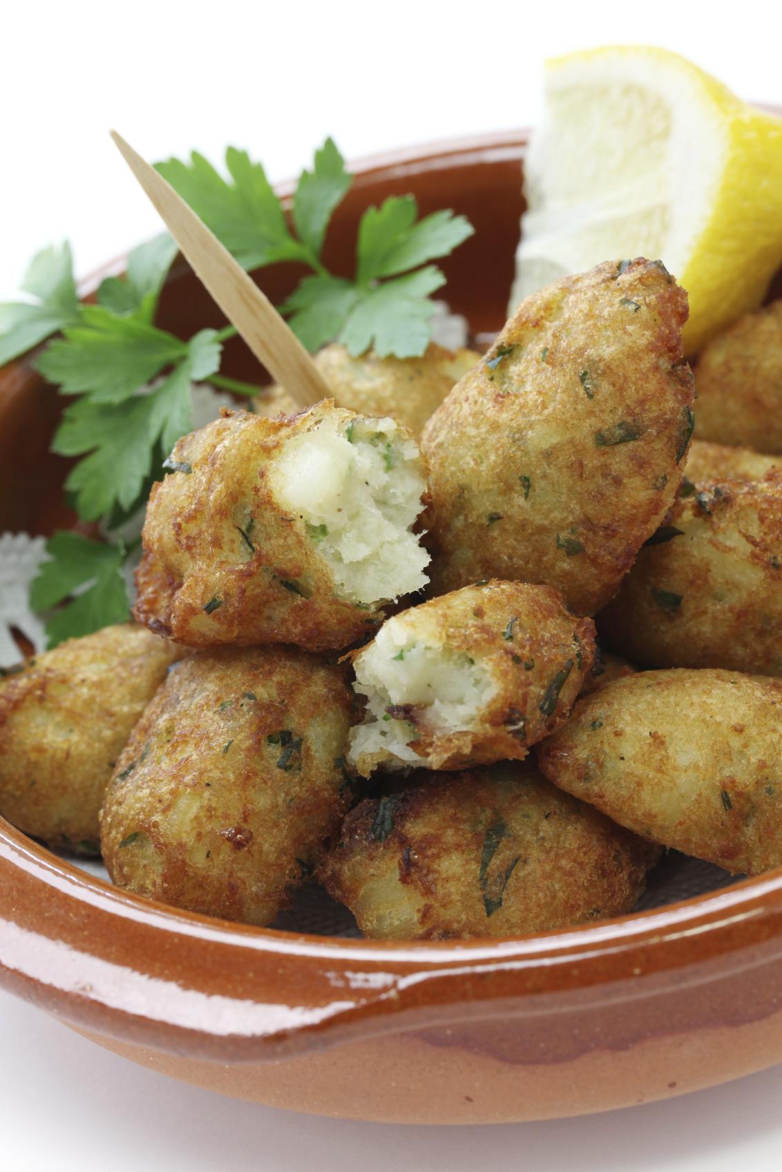Riċetta: Insalata tal-patata 'croquettes'