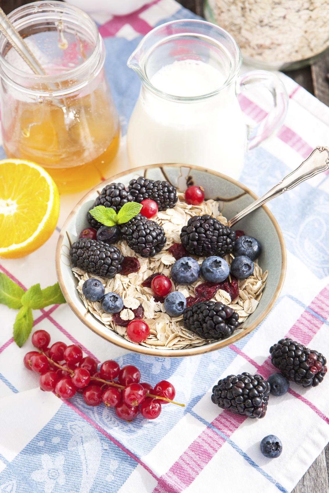 Recipe: Orange cranberry oatmeal