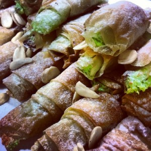 Recipe: Filo cigars with ricotta (Picture by Lea Hogg)