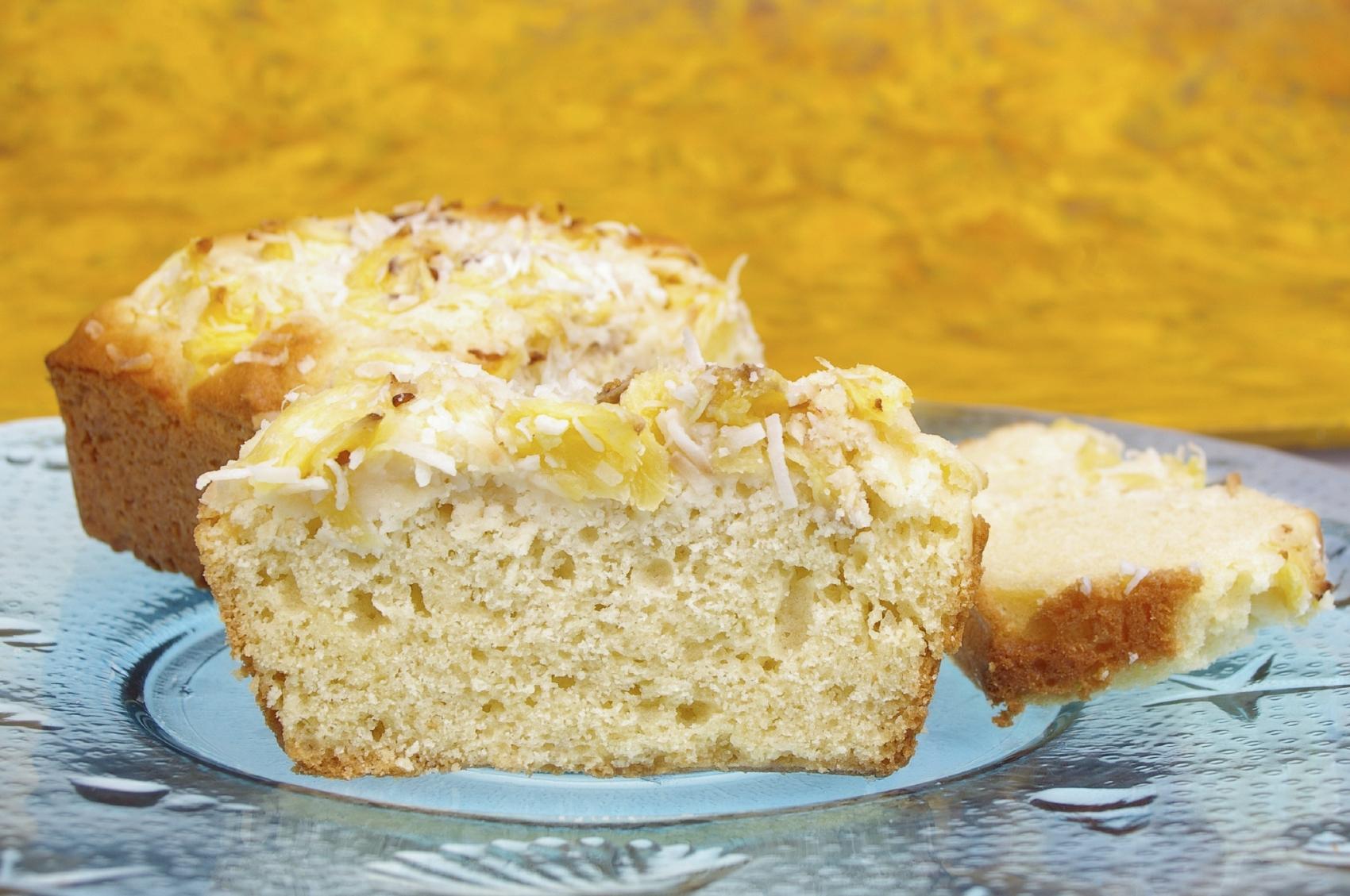 Recipe Orange coconut sponge