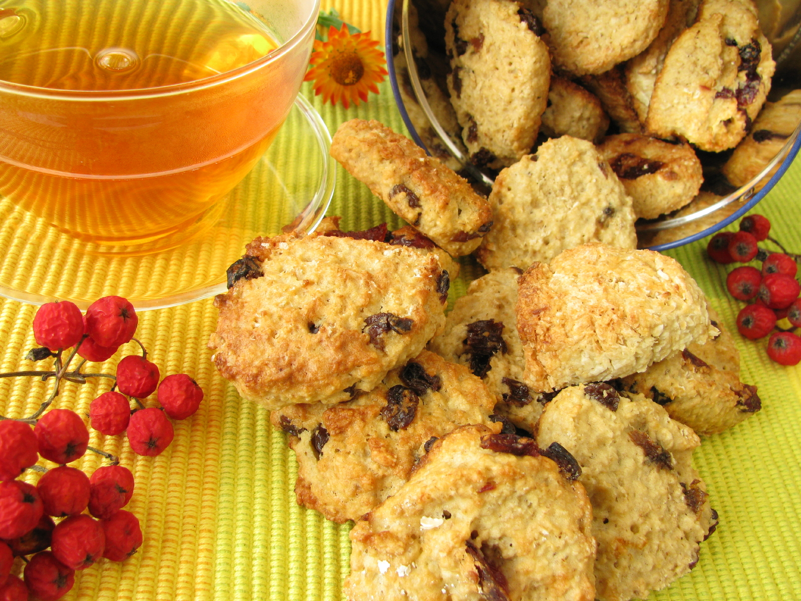 Recipe Peanut Carob Oatcakes