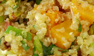 Video recipe: Golden beet and quinoa salad with feta