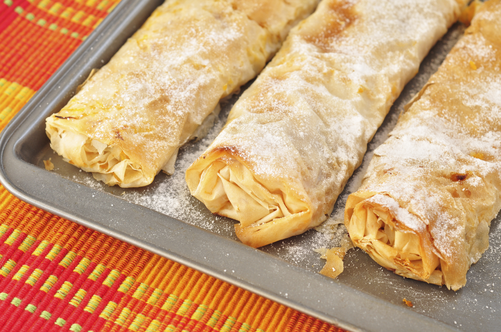 Recipe: Filo cigars with ricotta