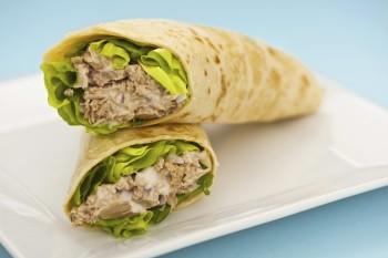 Recipe: Tuna wrap