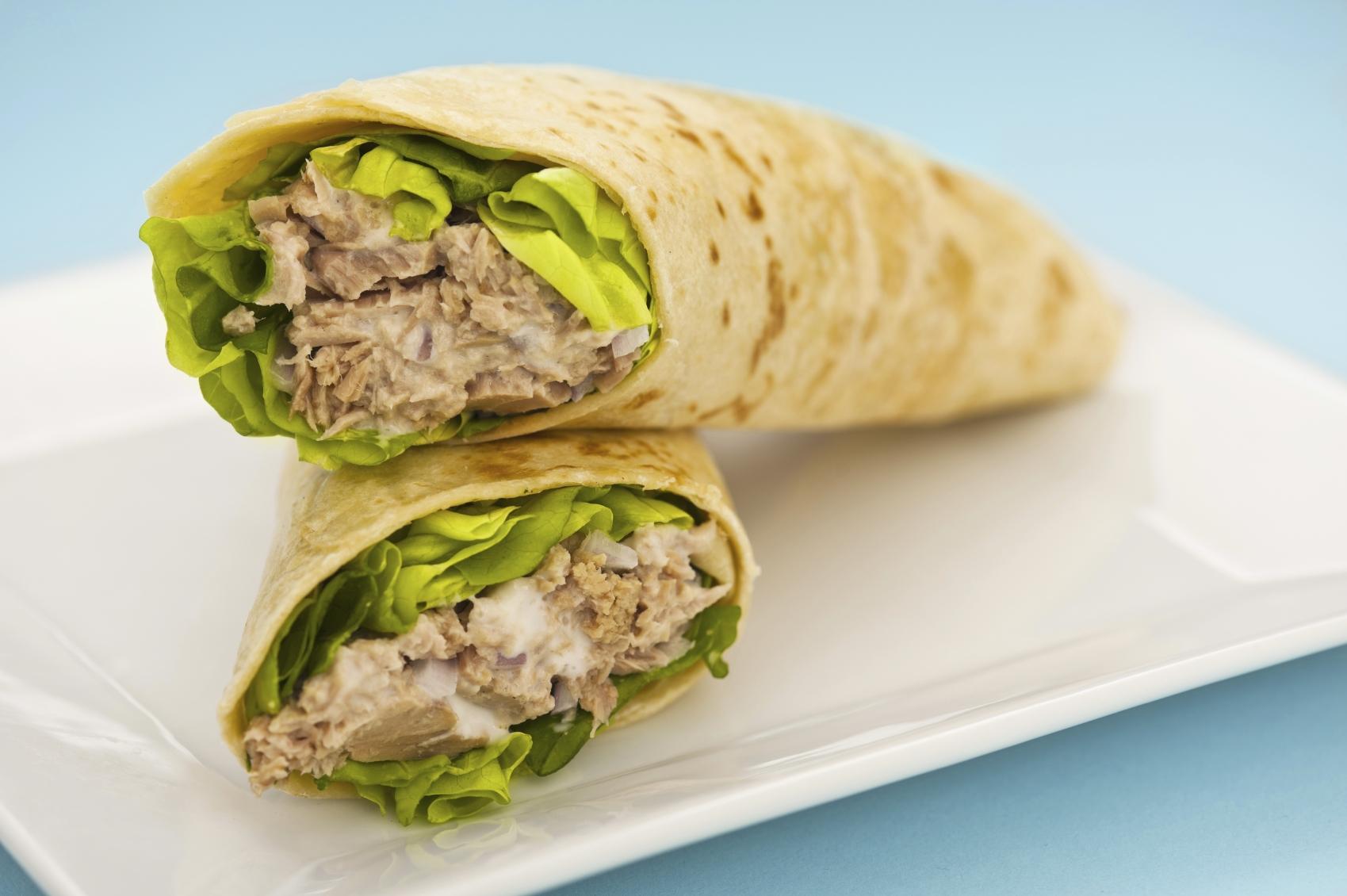 Recipe Tuna wrap