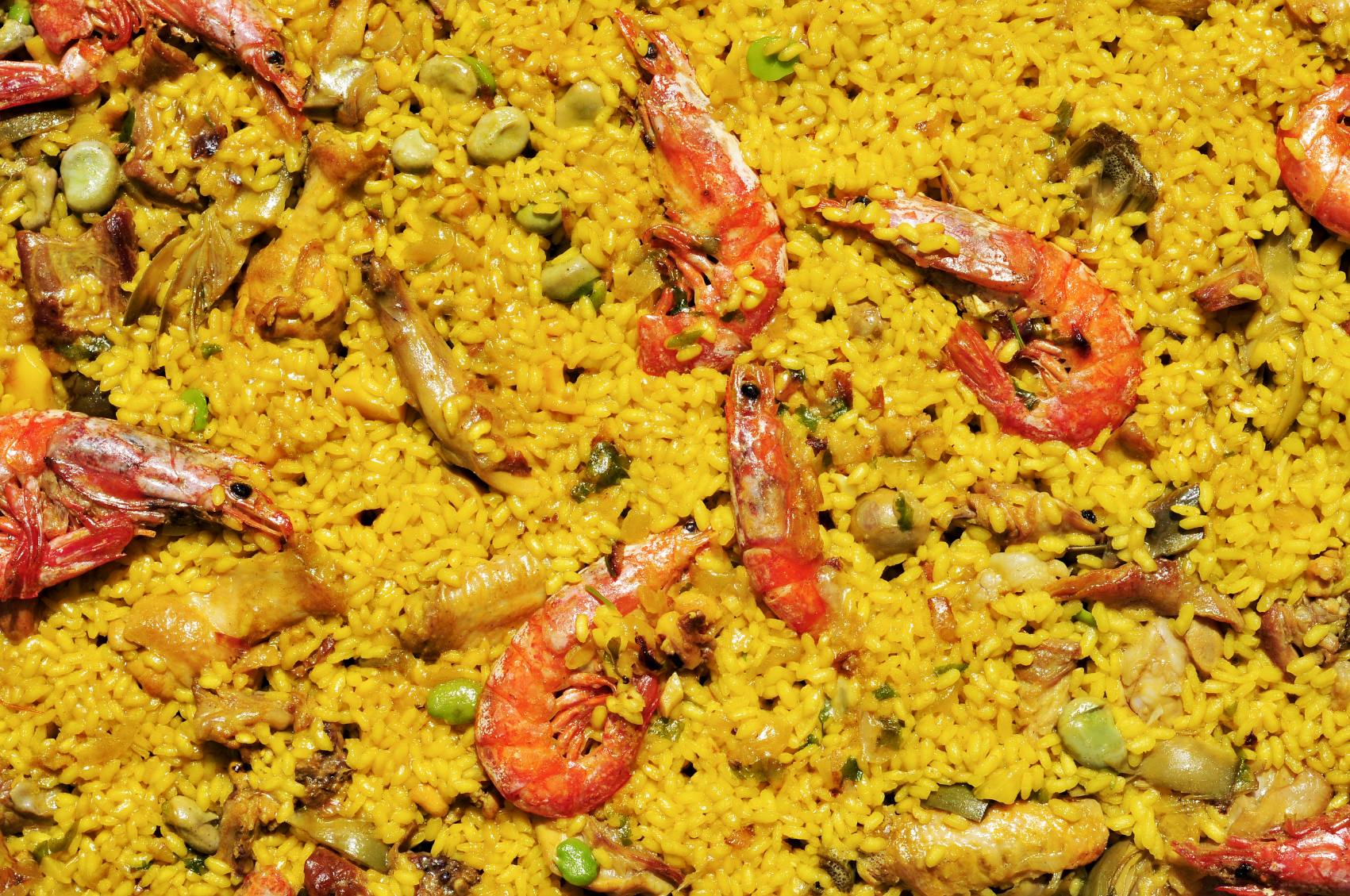 Spanish paella mix