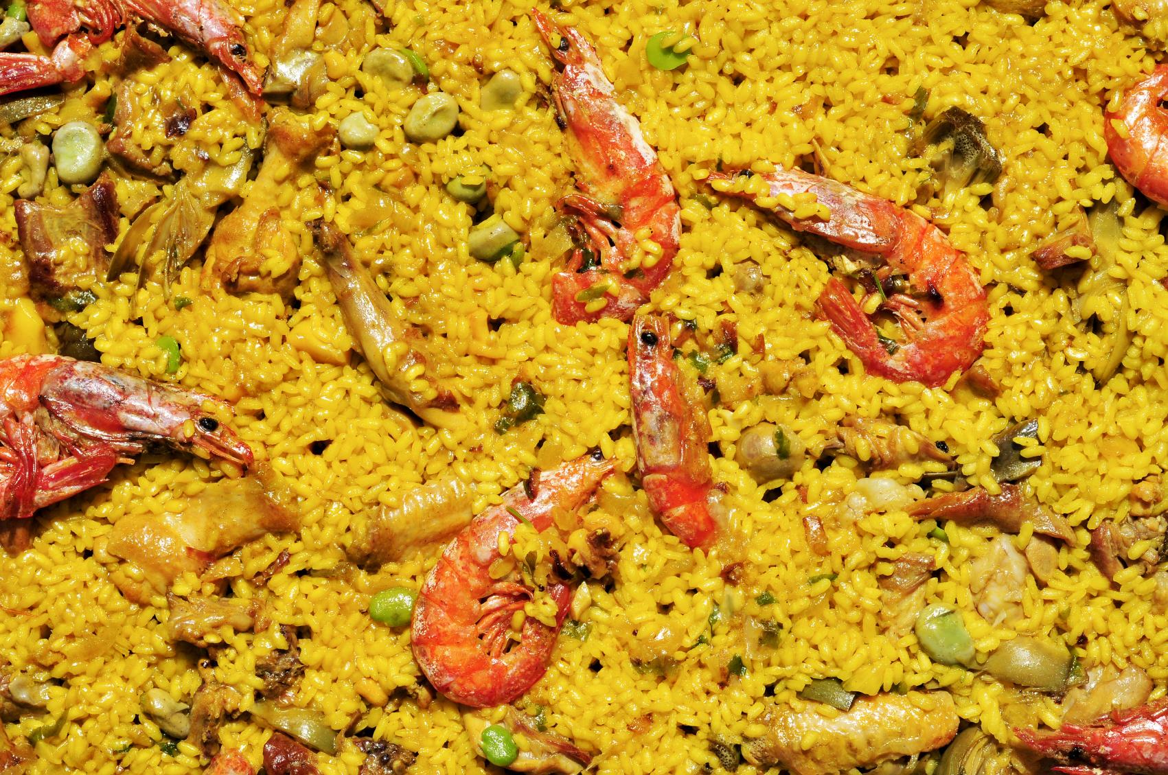 Spanish paella mix