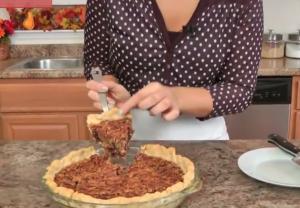 Video recipe: Chocolate pecan pie