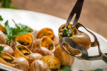 Recipe: Snails in wine