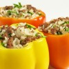 Video recipe: Easy stuffed peppers