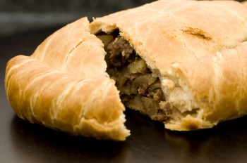 Traditional English recipe: Cornish pasties
