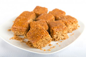Recipe: Gingerbread cake squares