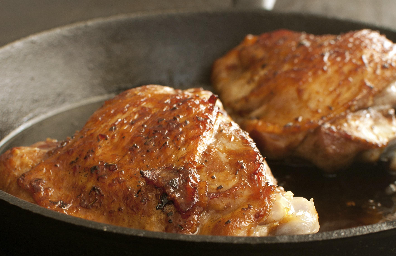 Recipe Chicken thighs with pears and chestnuts Riċetta Koxox tat-tiġieġ bil-lanġas u l-qastan