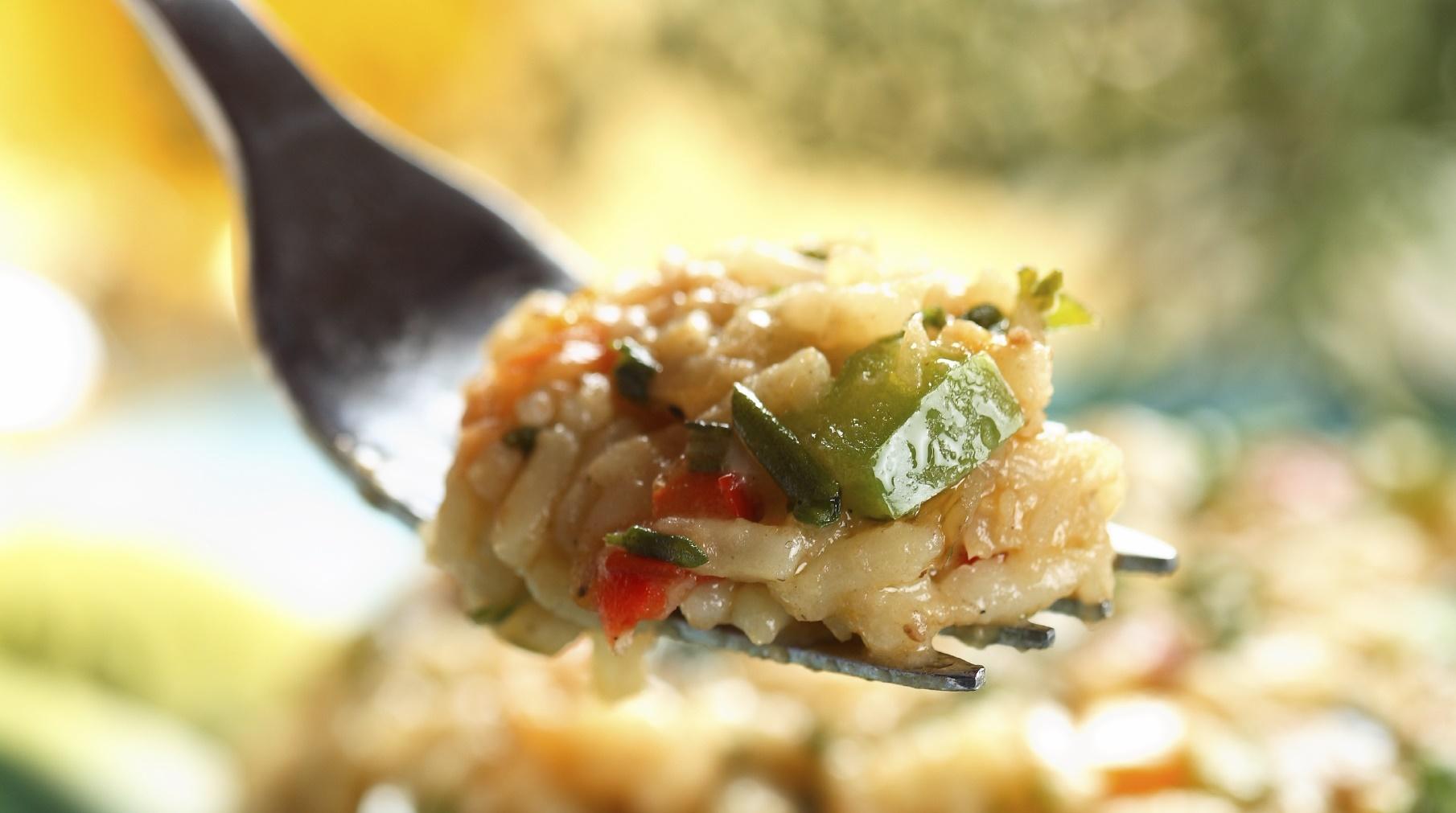 Dried tomato and spinach risotto Risotto bit-tadam imqadded u spinaci
