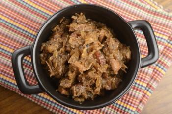 Riċetta: Stuffat tal-majjal u l-faqqiegħ (mushrooms)