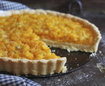 Recipe: Yoghurt and apricot tart