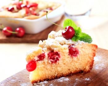 Recipe: Cherry cake with olive oil Riċetta: Kejk taċ-ċirasa biż-żejt taż-żebbuġa