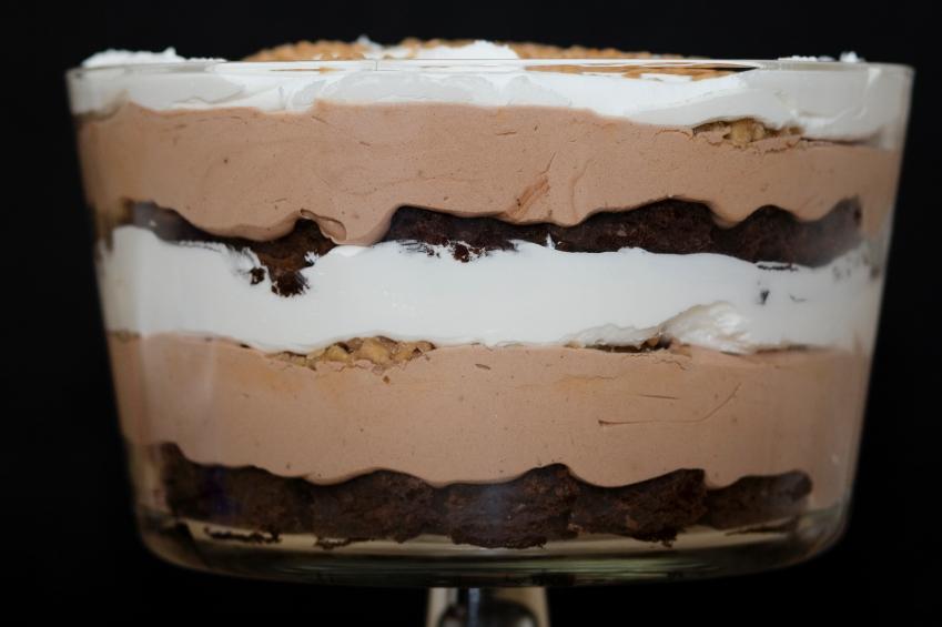 Recipe: Choco-coffee trifles Riċetta: Trifles taċ-ċikkulata u kafè