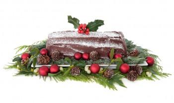 Riċetta: Christmas log