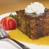 Recipe Date and caramel cake Riċetta: Kejk tat-tamal bi krema maħlula tal-karamel