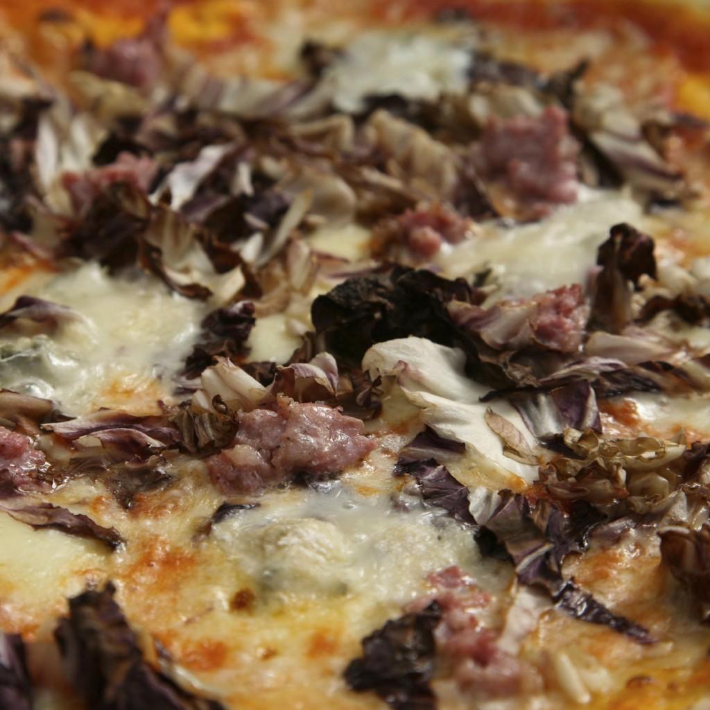 Riċetta Għaġina sfirjulata bil-gorgonzola , tamal u prosciutto