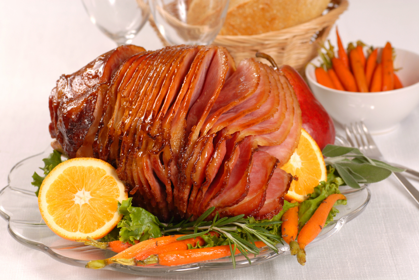 Recipe: Orange and honey gammon
