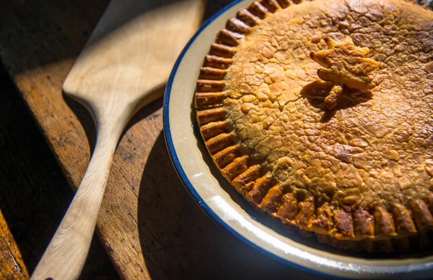 Recipe of pork pie Riċetta: Torta tal-majjal