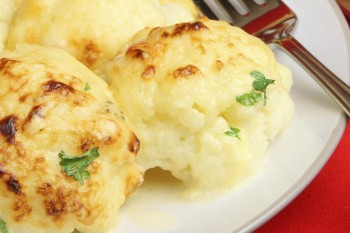Recipe: Baked mashed potato florets