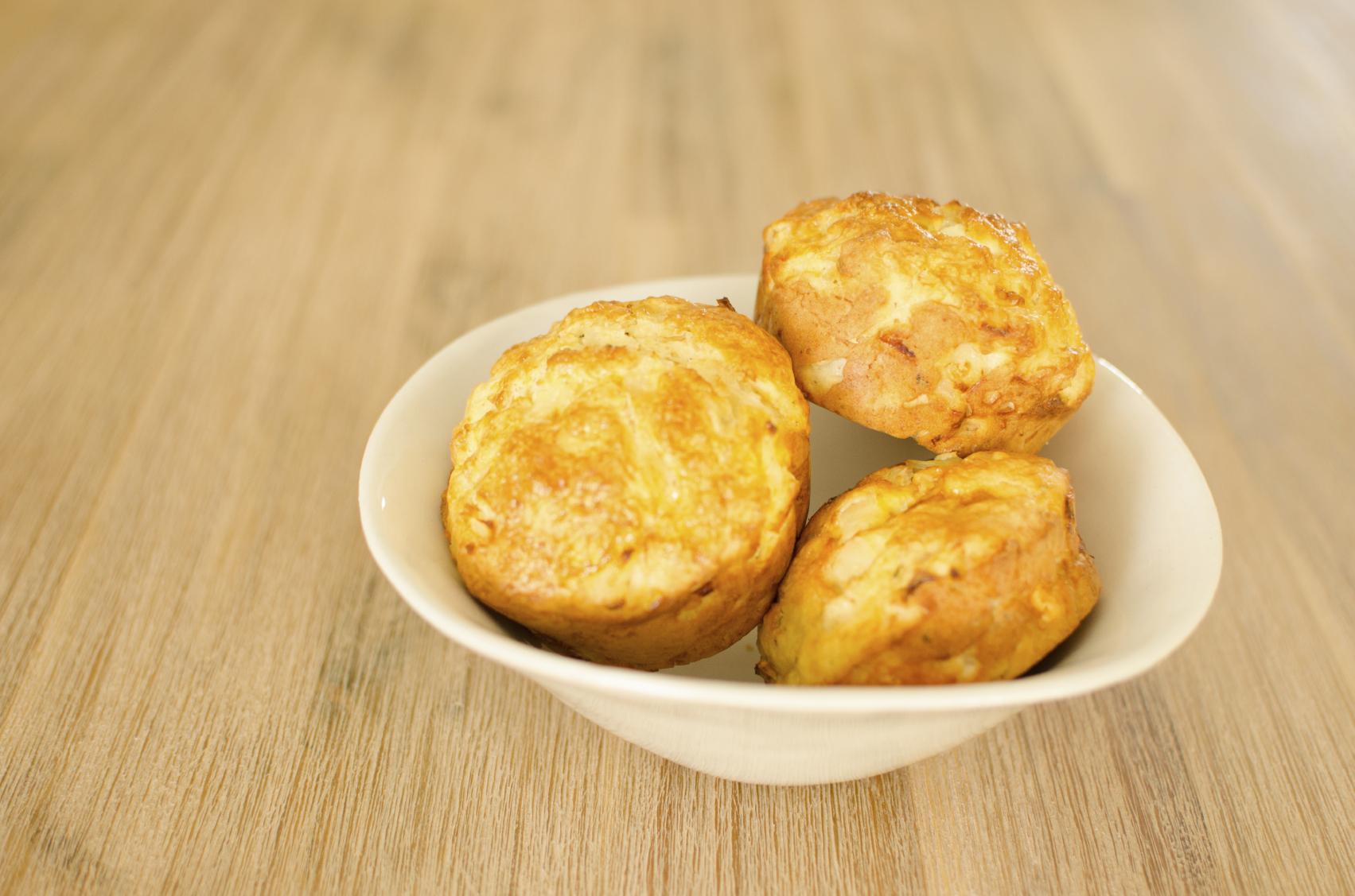 Recipe Orange and ricotta scones (no butter, no sugar)