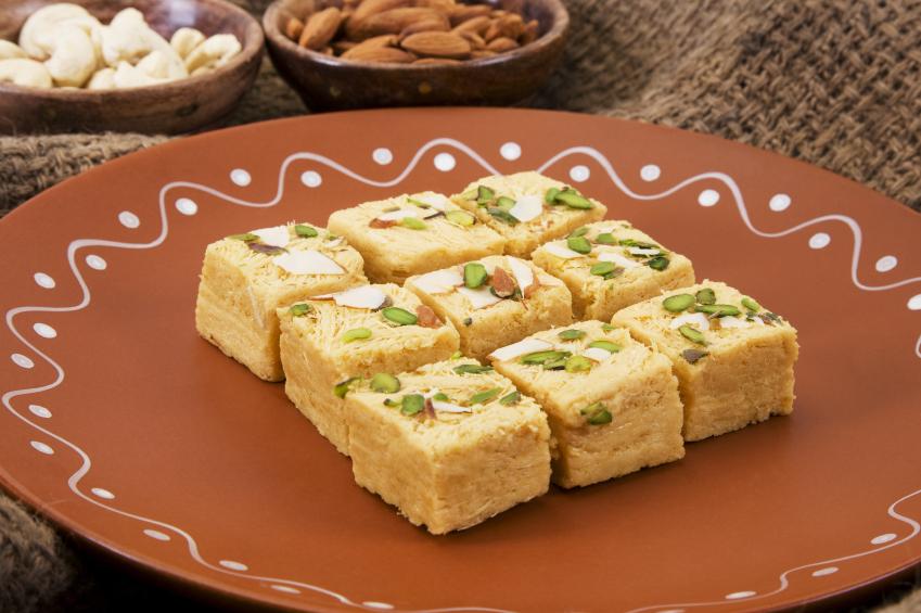 Recipe: Almond squares