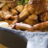 Winter salad with beans and mushrooms: Insalata xitwija tal-fażola u l-faqqiegħ (mushrooms)