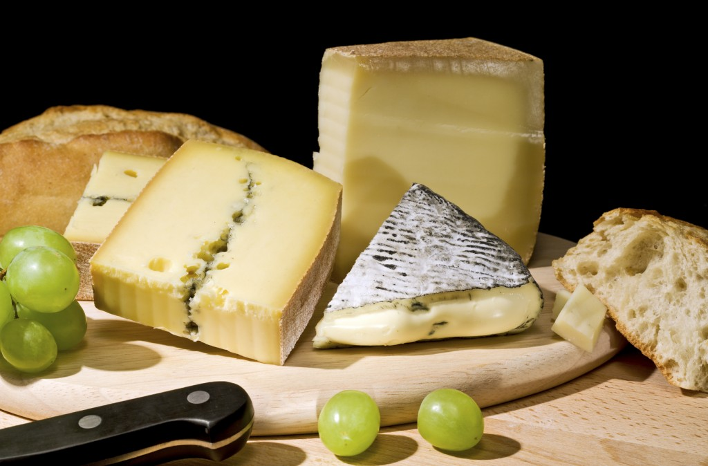 Kick up excitement with flavoured cheeses