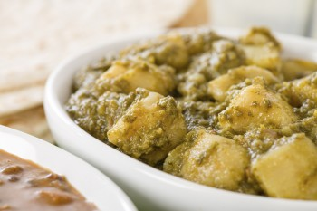 Potato curry: Patata bil-curry