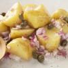 Potato salad with capers and mustard: Insalata tal-patata bil-kappar u l-mustarda