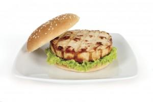 Quick chicken tahini burgers