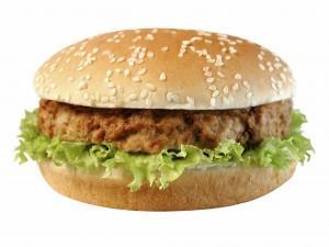 Quick herby chicken burgers