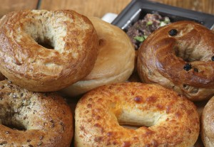 Santa Fe Bagel Thins bagel