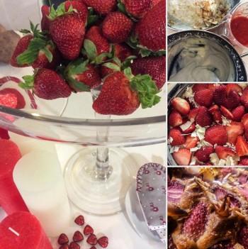 Riċetta għal Jum San Valentinu: Cheesecake tal-frawli bla butir u b'inqas zokkor