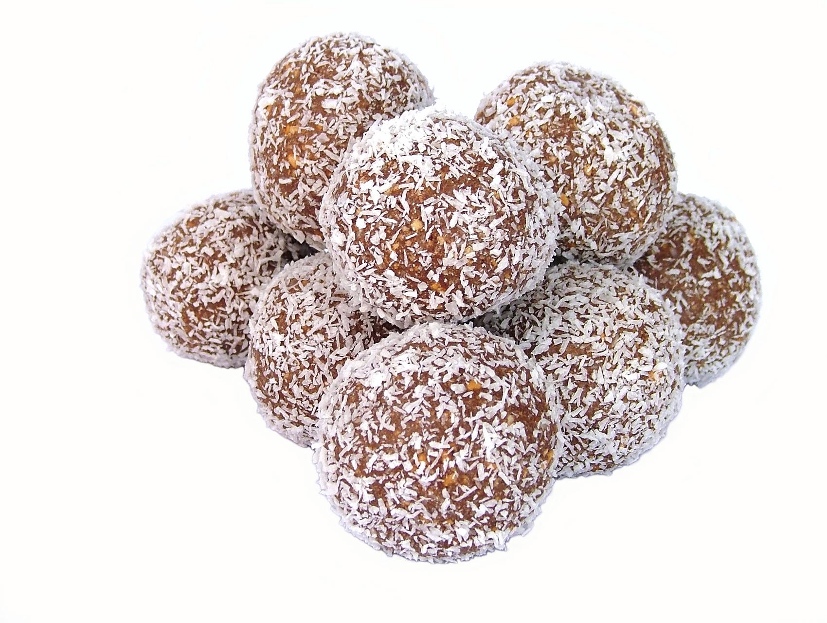Carrot and coconut balls: Riċetta: Blalen tal-karrotti u ġewż