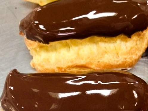 Eclairs Photo by Lea Hogg (cropped)