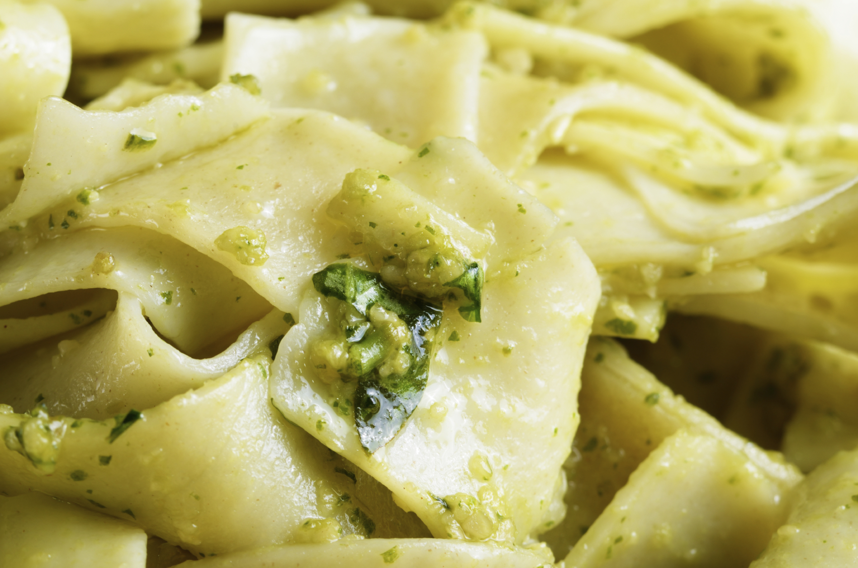 Fennel papardelle: Papardelle bil-bużbież