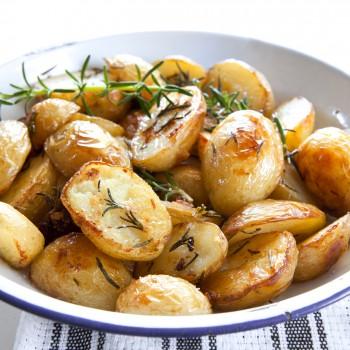 Riċetta: Patata mixwija bil-mustarda u l-klin (rosemary)